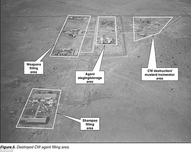 A CIA picture of the Muthanna State Establishment, which produced chemical weapons on an industrial scale