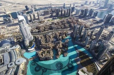 Burj Khalifa skyscraper opens highest observation deck on ...