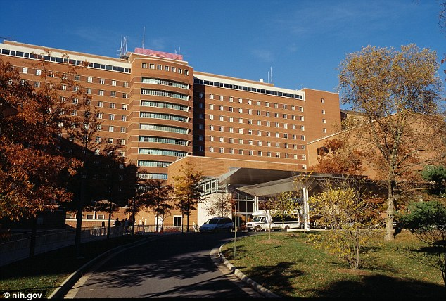 The National Institutes of Health Hospital in Bethesda, Maryland, is one of four hospitals in the nation that has a special infectious disease isolation ward