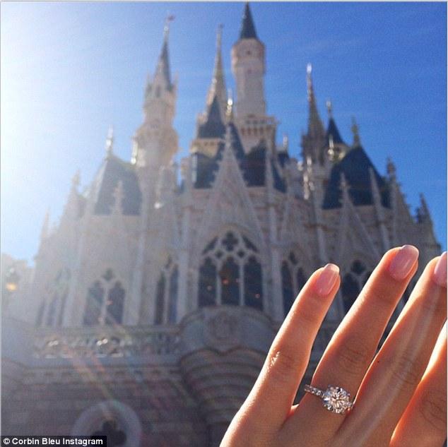 Corbin Bleu Engaged To Girlfriend Sasha Clements At Disney