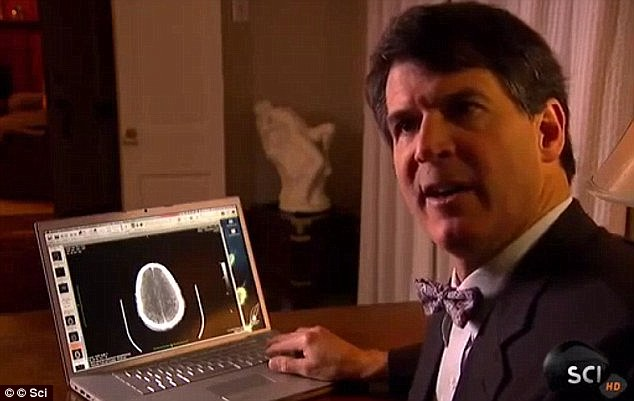 Dr Eben Alexander says he was taken 'on a voyage through a series of realms' after he went into a coma when he was diagnosed with meningitis