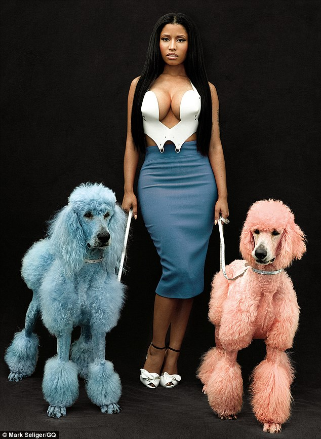 Nicki Minaj Dials Back Her Outrageous Style But Keeps The