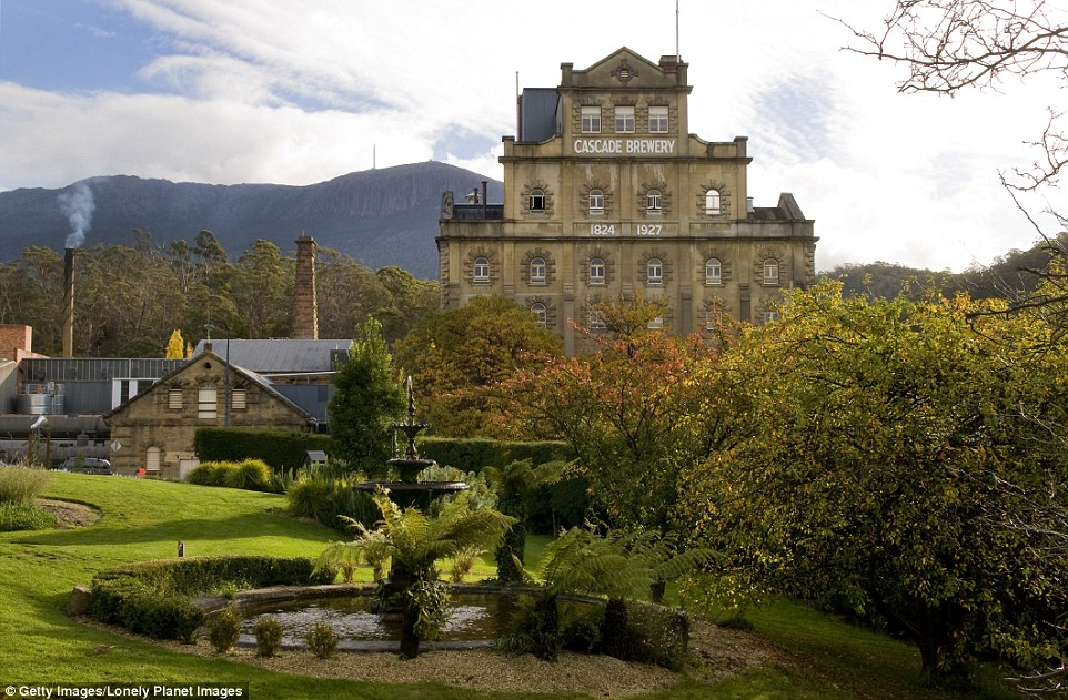 Cascade Brewery, in South Hobart, is the oldest continually operating brewery in Australia and began operation in 1825