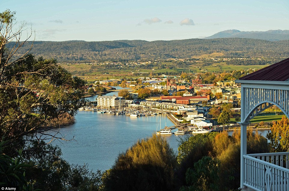 Launceston is Tasmania's only inland city but is still surrounded by rolling hills and the River Tamar