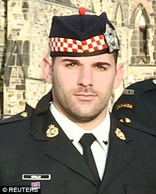 Canadian Corporal Nathan Cirillo, 24, was gunned down by Muslim convert Michael Zehalf-Bibeau, 26, on Wednesday