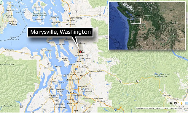 Location: The tragedy played out Friday morning in Marysville, about 35 miles from Seattle