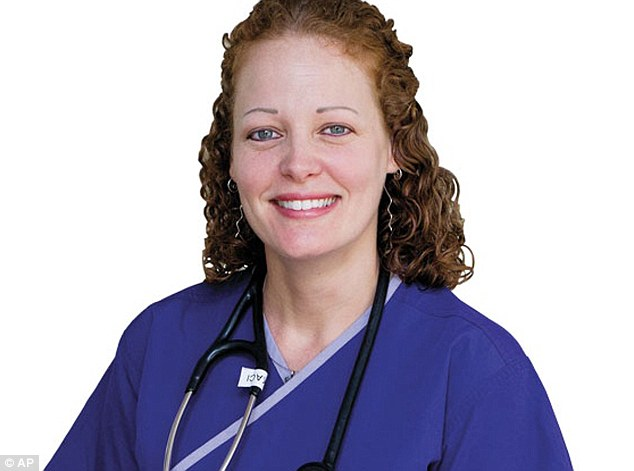 Nurse Kaci Hickox was the first medical professional to be quarantined in New Jersey immediately upon returning to the United States from West Africa, where she had worked in treating Ebola patients.S he lashed out at Christie for giving her a diagnosis of sorts as 'obviously ill.'