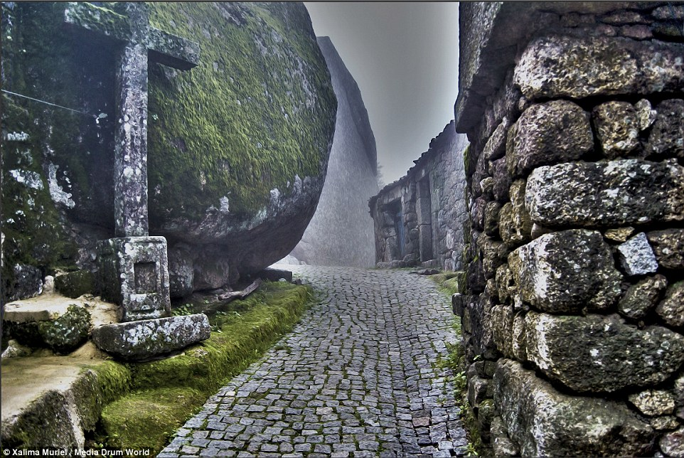 Medieval: The ancient village, formed out of the granite rocks on the mountain, has stood the test of time