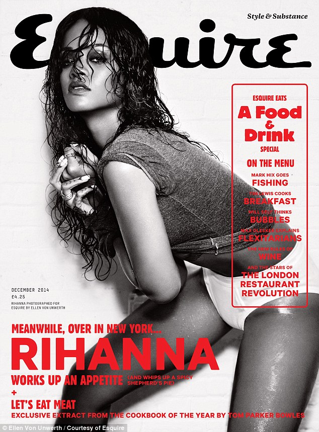 Read all about it! Check out all of Rihanna's delicious Bajan recipes in the Esquire December issue - on sale Thursday November 6