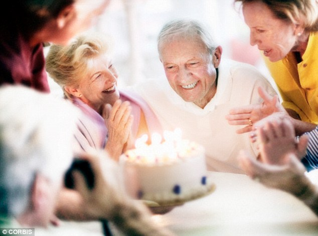 Having older relatives that have reached 80 years old without suffering memory loss can boost a person's brain age, the test suggests