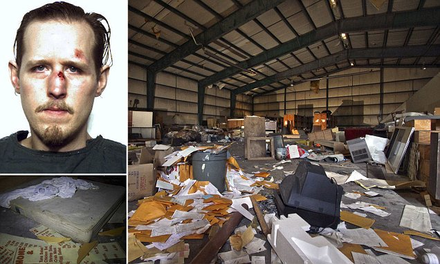 Eric Frein Stashed Toilet Paper Bible Pots And DVDs At