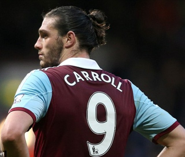 Andy Carroll Could Be On The Bench For West Hams Home Clash With Aston Villa On