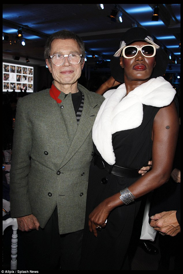 Artist: Photographer Jean-Paul Goode and former lover Grace Jones. They had a son together