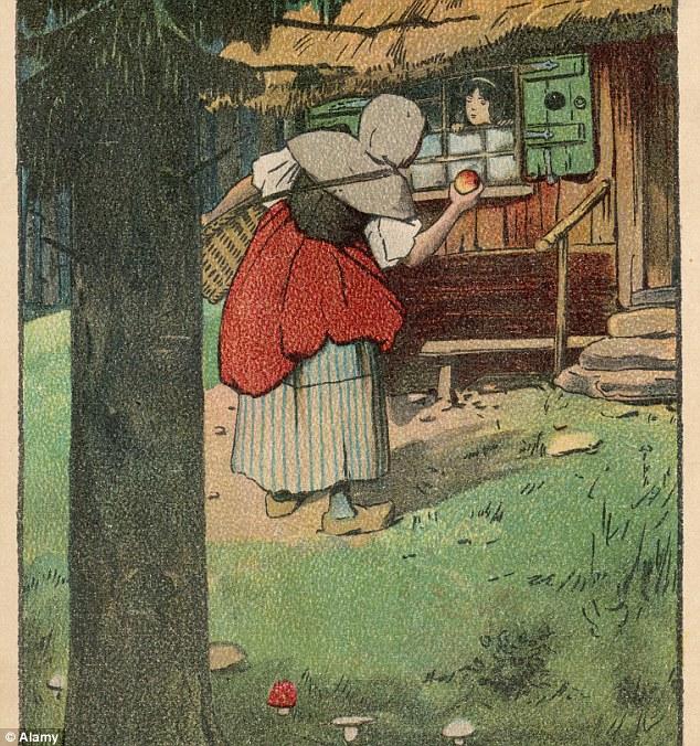 White Original Brothers Grimm Snow Story