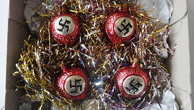 Nazi Christmas Tree Decorations Used By The SS Go On Sale