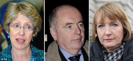 Earlier this year, shocking links were exposed between PIE and Labour Deputy Leader Harriet Harman (right), minister Jack Dromey and former health secretary Patricia Hewitt (left), who all held key roles in the NCCL