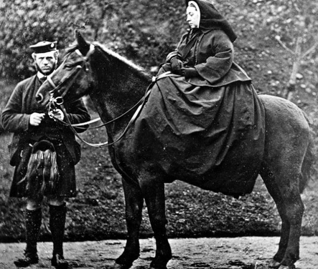 Man And Wife Queen Victoria And Her Servant John Brown Pictured Together Were