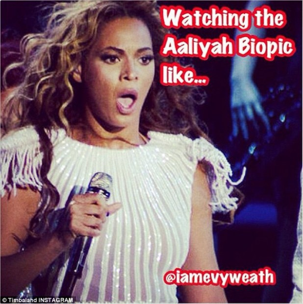 A humorous response: One of the many memes doing the rounds was this one featuring Beyoncé