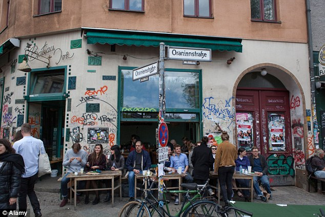 Kreuzberg, Berlin: Still among Berlin's poorest neighbourhoods, the area is now the centre of the Germany's digital currency boom, with the world's highest density of businesses accepting Bitcoin