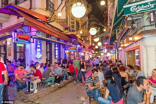 Beyoglu, Istanbul: Locals note that chain stores are gradually moving in and pushing out many of the independent retailers, cutting-edge design shops, restaurants, and cafes