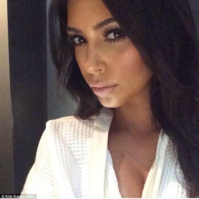 Kim Kardashian Doused Herself In Her Own Hair Oil For