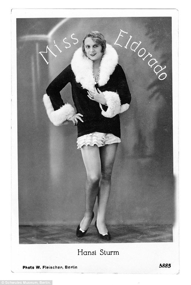 Hansi Sturm, was the winner of the Miss Eldorado transvestite pageant in 1926