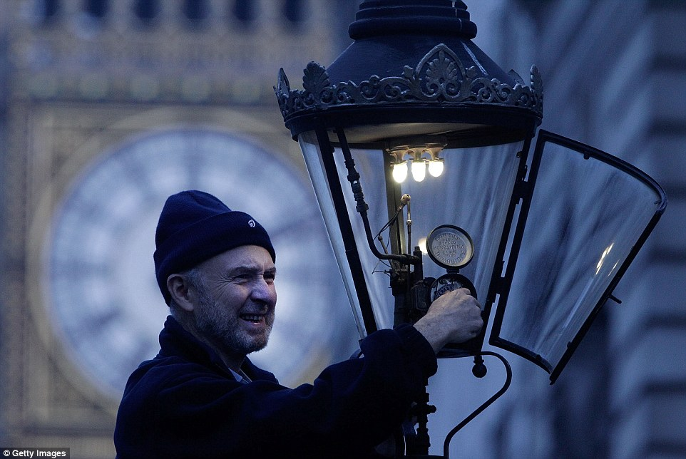 Important job: Before lamplighters existed, London was a dark city. In the 18th century, it was a brave walker who ventured out without servants to lead the way with a lamp in one hand and a cudgel in the other