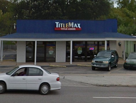 As they were: The Hunan Chop Suey and TitleMax loans were both intact before last night's orgy of violence