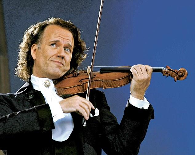 Resultado de imagen para andre violin