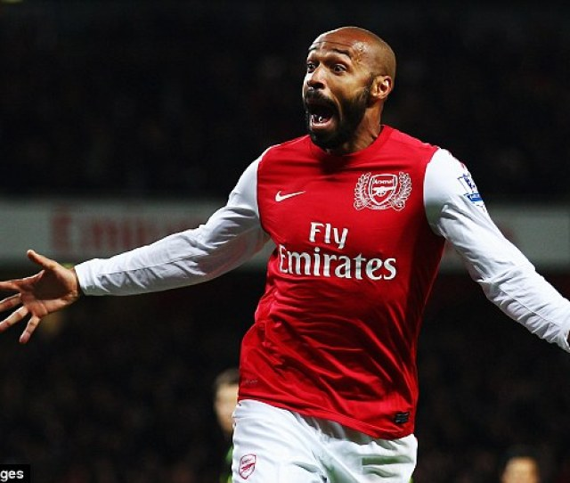 Thierry Henry Pictured Celebrating Scoring In January  Admitted He Would Love To Return