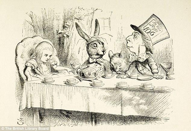 Golden Wonderland Alice Book