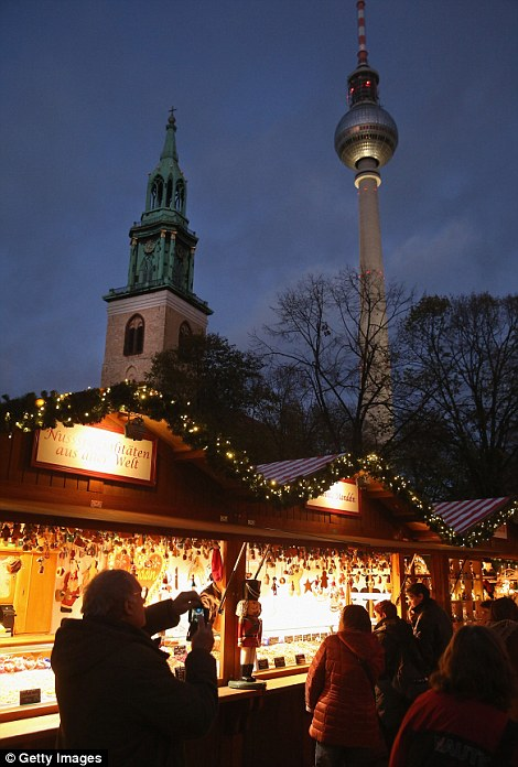 The traditional markets offer gluehwein, decorations, sweets and other delights