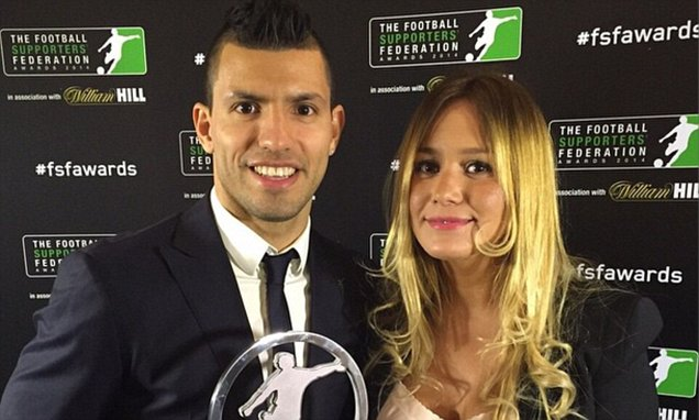 Sergio Aguero Named Player Of The Year By The Football