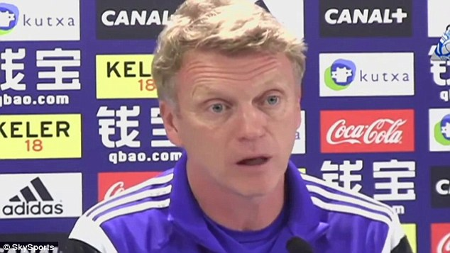 David Moyes Shows Off Spanish Skills During Real Sociedad Press