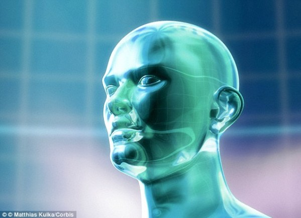 Dr Susan Schneider from The University of Connecticut says the first intelligent aliens we find might not be biological. Speaking to MailOnline she said advanced aliens might be machines (stock image shown). Humanity is already heading in this direction, she claimed