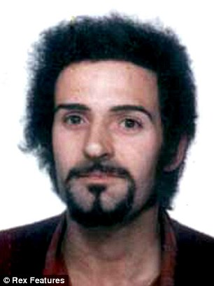 Wannabe killer's idol: David Parsons, 21, bought a claw hammer because it was Peter Sutcliffe's (pictured) weapon of choice