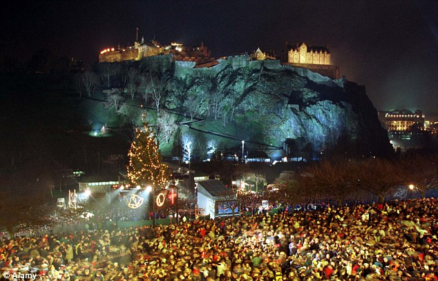 Stirling rated better than Edinburgh for Hogmanay celebrations     Edinburgh is the most popular city for Hogmanay celebrations with 70 000  visitors last year