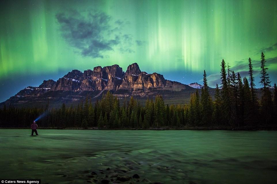 Robson Green Northern Lights