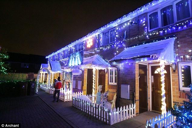 Christmas Lights Outside