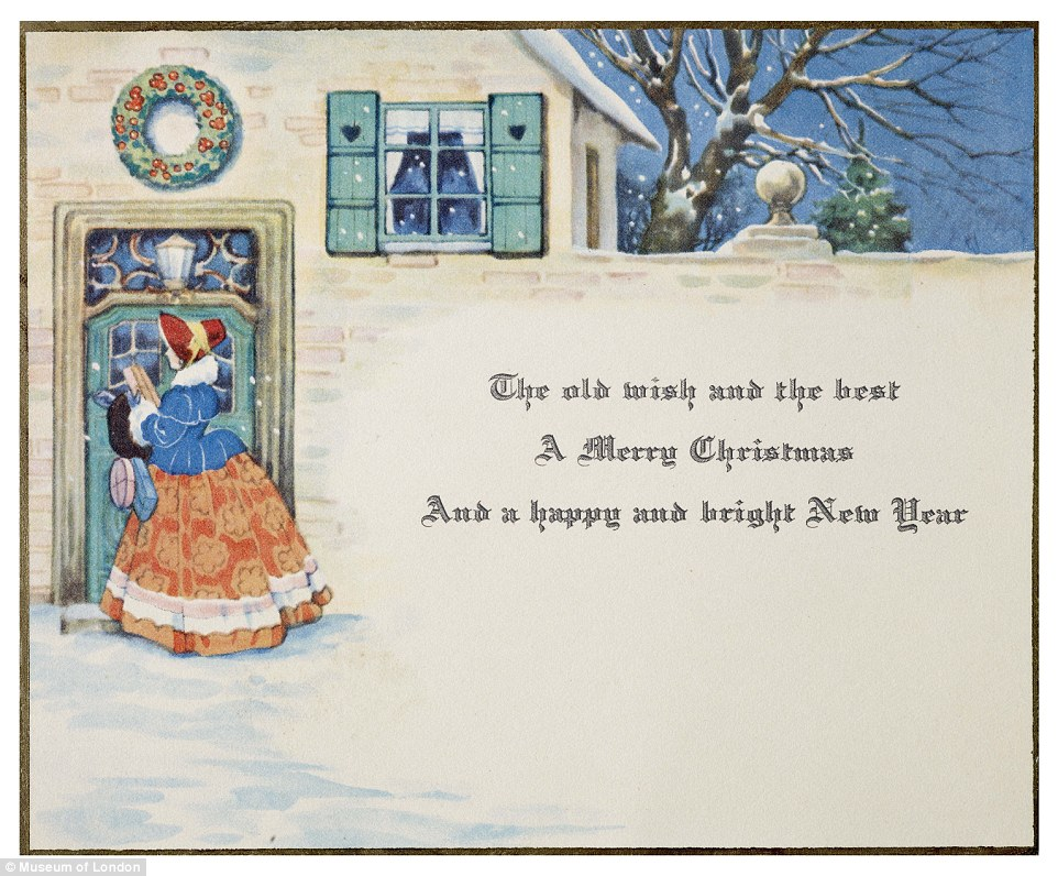 Victorian Christmas Cards Uk Merry Christmas And Happy