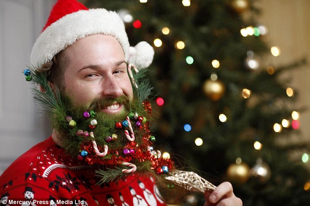 This Christmas Is ALL About The Beard Hipsters Decorate
