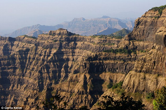 ... India that preserves remnants of one of the largest volcanic eruptions