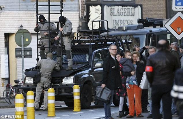 """""""No parece haber nada político"""", dijo el portavoz de la policía federal Annemie Serlippens"""
