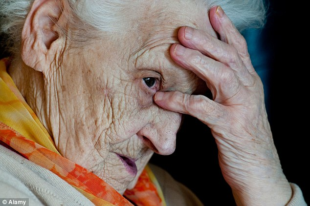 Dignity for the elderly: The elderly are twice as likely to be prescribed anti-psychotic drugs as people in their 40s, even though they are linked to a higher risk of premature death in older people. File picture