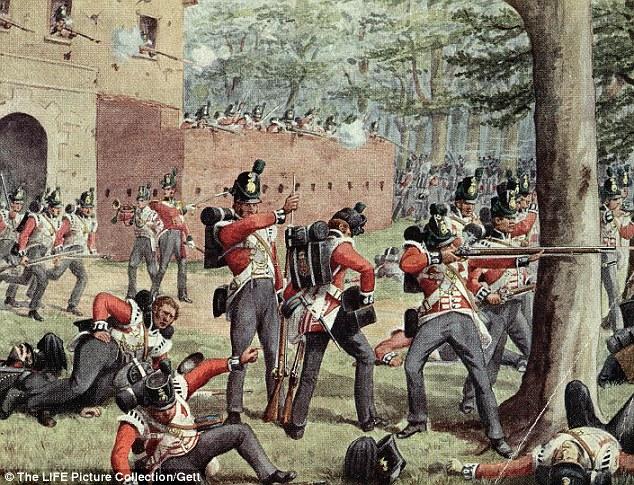 Wellingtons Heroes Finally Win Waterloo Memorial On