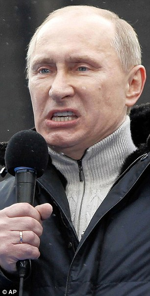 Villain or victim? Vladimir Putin in aggressive form - but we may be pushing him too far