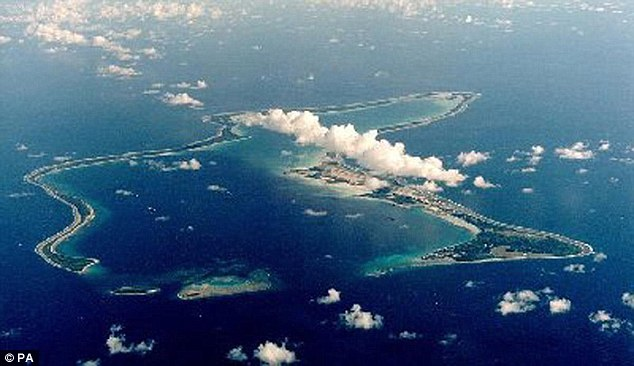 The U.S. Navy Support Facility at Diego Garcia, British Indian Ocean Territory. Dugain claims the U.S. feared the plane was about to be used in a terror outrage