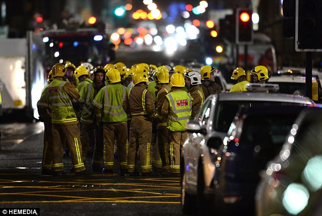 Police were unable to say if any children were among the casualties, but a spokesman said there had been families in the area at the time