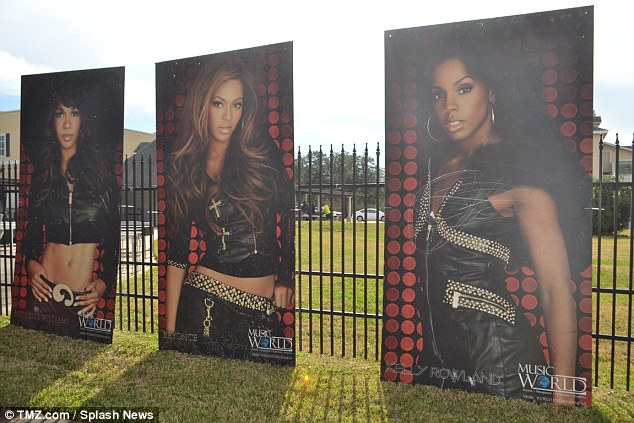 Fandom: The 63-year-old former manager unloaded tons of posters, DVDs, tour T-shirts and various other mementos from Beyonce's early singing years from when she was in the successful band Destiny's Child