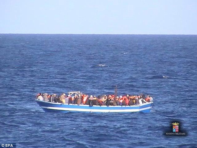 One of the dead was brought onto the navy's Etna vessel by a merchant ship from Malta, while the other four were taken onto the Orione patrol boat from a Cypriot vessel